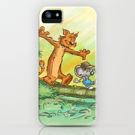 Pellejo & Rakumin - Across the river iPhone Case