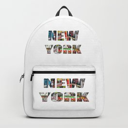 New York (typography) Backpack