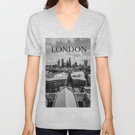 The City of London Unisex V-Neck
