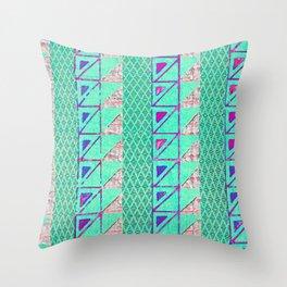 étnico Shima Throw Pillow