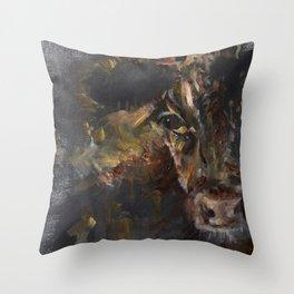 Little Calf Throw Pillow