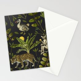 Lemurs Stationery Cards