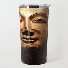 Gold Buddha Travel Mug