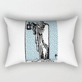 Modern Tarot Design - 9 The Hermit Rectangular Pillow