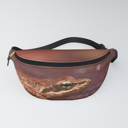 The little frog Rana iberica Fanny Pack