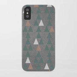 Concrete & Pattern iPhone Case