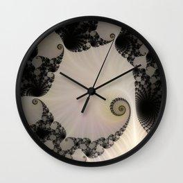 Fractal Lagoon Wall Clock