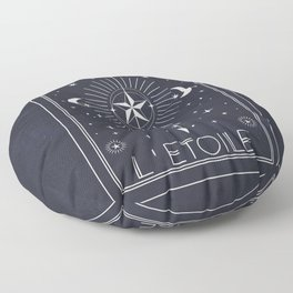 L'Etoile or The Star Tarot Floor Pillow