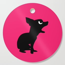 Angry Animals: Chihuahua Cutting Board