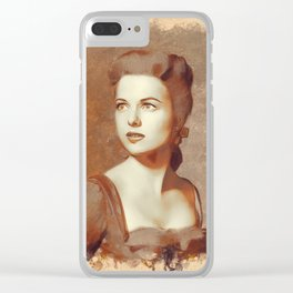 Martha Hyer, Hollywood Legend Clear iPhone Case