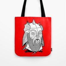 Warrior's Decapitated Head Tote Bag