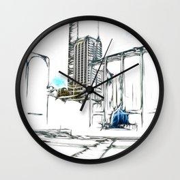 Lincoln Center, NYC Wall Clock