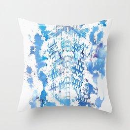 Flatiron Throw Pillow