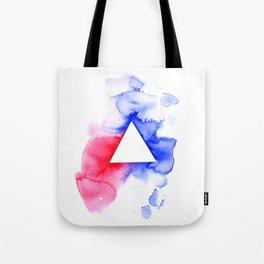Watercolour triangle Tote Bag