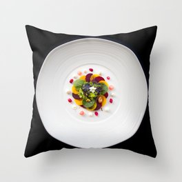 The Art of Food Colours of Nature 2 Throw Pillow