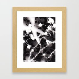 Photogram Framed Art Print