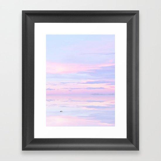 Sailor's dream Framed Art Print