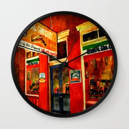 Central Grocery Wall Clock
