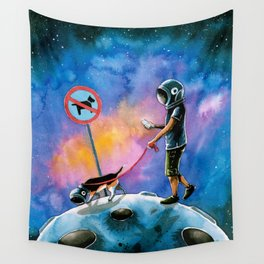 moonwalking Wall Tapestry