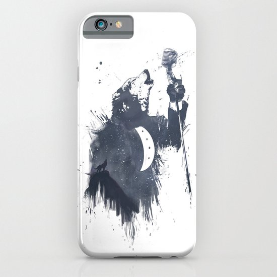 wolf song II iPhone & iPod Case