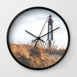 Cape Henry Lighthouse the 2nd ( Matte, Color) Wall Clock