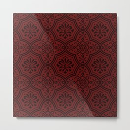 seamless pattern in eastern style Metal Print