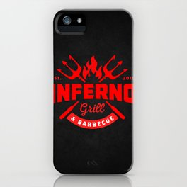 Inferno Grill and Kitchen iPhone Case