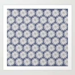 Australian Native Flora Acacia Blossom Alpine Colourway 1 Art Print