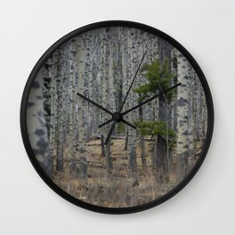 Through Layers Wall Clock