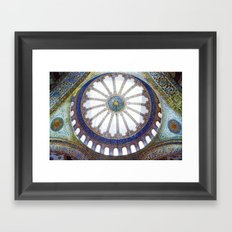 The Blue Mosque, Istanbul Framed Art Print
