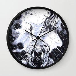 Spider-Man Blue Wall Clock