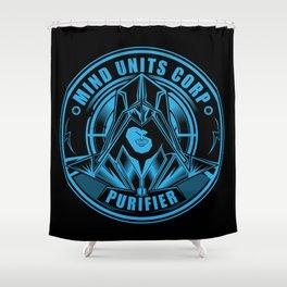 Mind Units Corp - Purifier Resistance Version Shower Curtain