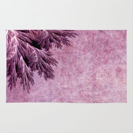 Frost in pink Rug