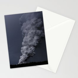 Hawaii's Kilauea volcano erupting. Stationery Cards