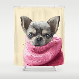Montserrat Pet Shower Curtain