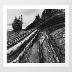 Layers of Fundy Art Print