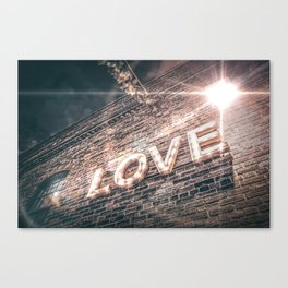LET LOVE SHINE Canvas Print