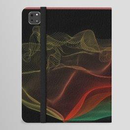 Almost Fluorescent Aurora String Theory #3  iPad Folio Case