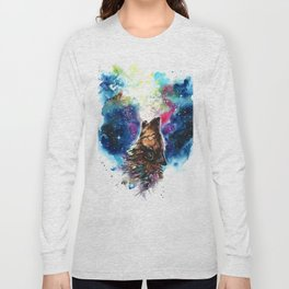 Moonlight singing Long Sleeve T-shirt