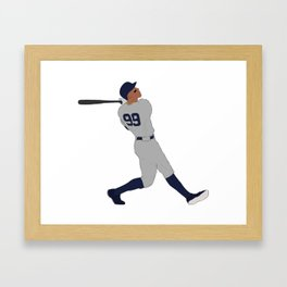 Aaron Judge Framed Art Print