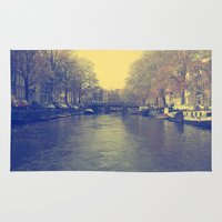 amsterdam Area & Throw Rugs featuring Amsterdam by Devin Stout
