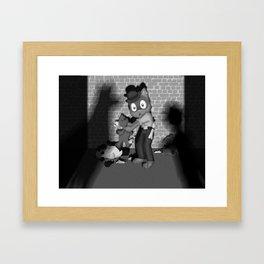 Whodunit? Framed Art Print
