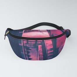 Oblong  Stairwell Fanny Pack