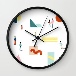 Fridays at the Art Gallery Wall Clock