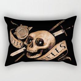 Hell's Bells Rectangular Pillow