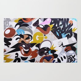 Graffiti earth colors Urban G Rug