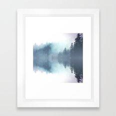Forest Reflections Framed Art Print
