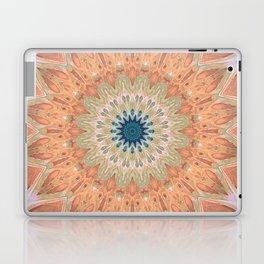Peach Antique Gold Mandala Laptop & iPad Skin