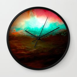 FOUNTAIN LIGHTS Wall Clock