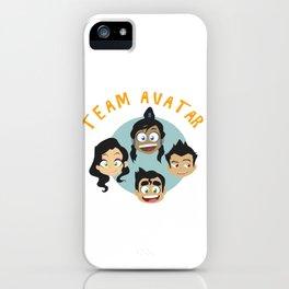 Team Avatar iPhone Case